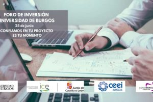 La UBU pone en marcha el Foro de Inversión para empresas y emprendedores