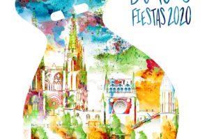 Cartel ganador del concurso de las fiestas de San Pedro y San Pablo 2020 de Burgos