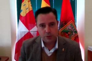 Daniel de la Rosa alcalde de Burgos dicta un nuevo Bando municipal