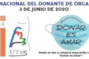Lanzan la campaña DonarEsAmar con motivo del Día Nacional del Donante 2020