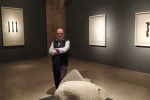 El escultor burgalés Alberto Bañuelos presenta 19 obras en Cruce de culturas en la Catedral de Burgos