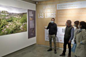 El Geoparque Las Loras muestra su potencial en una exposición en el Consulado del Mar