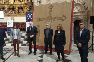 La Fundación VIII Centenario de la Catedral. Burgos 2021 recupera el aspecto original del pendón cristiano de Las Navas