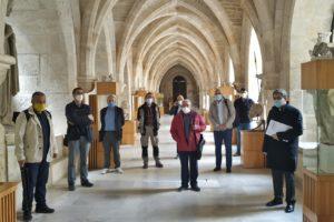 Las Edades del Hombre visita la Catedral de Burgos de cara a la exposición de 2021