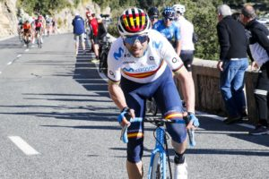 Alejandro Valverde, Enric Mas y Marc Soler, tridente de lujo de Movistar Team en la XLII Vuelta a Burgos