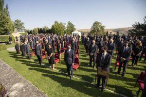 El Homenaje de Castilla y León a las Víctimas de la COVID-19 muestra la gratitud de toda la sociedad a los héroes anónimos que luchan a diario contra la pandemia