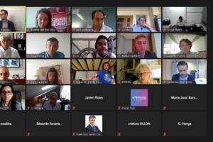 Apoyo al nacimiento de 7 proyectos empresariales celebrado en el Foro de Inversión online de la Universidad de Burgos