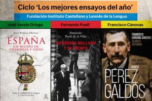 El Instituto Castellano y Leonés de la Lengua organiza el ciclo Los Mejores Ensayos del Año con tres presentaciones de libros en el Palacio de la Isla