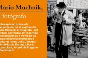 El ILCYL organiza una visita cultural al Palacio de la Isla para ver su exposición Mario Muchnik El Fotógrafo