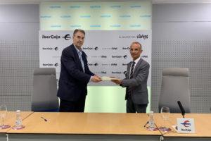 Ibercaja y la Confederación de Asociaciones Empresariales de Burgos, FAE renuevan su convenio de colaboración