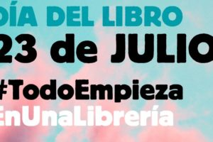 Este 23 de julio se celebra el Día del Libro de forma muy especial