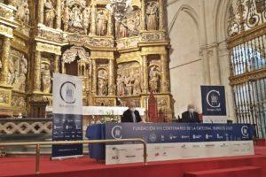La Fundación VIII Centenario de la Catedral. Burgos 2021 limpiará el retablo mayor de la Catedral de Burgos