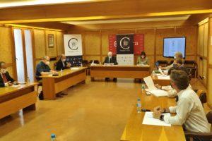 La Fundación VIII Centenario de la Catedral. Burgos 2021 muestra las cuentas anuales en la reunión de la mesa de Transparencia y Control
