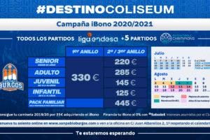 El San Pablo Burgos presenta su campaña de abonados para la temporada 2020/21 de Liga Endesa Acb y Basketball Champions League