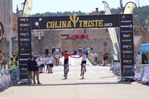 David Valero y Sergio Mantecón ganan en El Burgo de Osma y son los nuevos líderes de Colina Triste UCI 2020