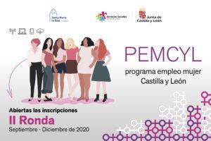 """Abierta la inscripción para participar en la segunda ronda del programa """"Empleo Mujer – PEMCYL"""" 2020"""