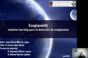Un estudiante online de Ingeniería Informática de la UBU gana el premio del Observatorio HP con su proyecto ExoplanetIA