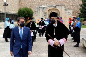 El presidente de la Junta Alfonso Fernández Mañueco y el rector Manuel Pérez Mateos inauguran el año académico de la UBU
