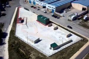 Finaliza la construcción de la Planta de Transferencia y pretratamiento de RCDs en el Valle de Mena