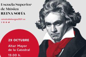 La Orquesta Sinfónica Freixenet y Pablo Heras-Casado rinden homenaje a Beethoven en la Catedral de Burgos en el 250º aniversario de su nacimiento