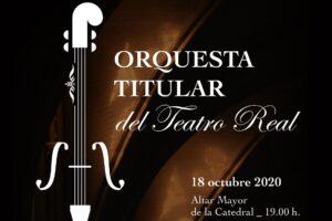 La Orquesta Titular del Teatro Real regresa a la Catedral de Burgos este domingo con una producción intensa y espectacular
