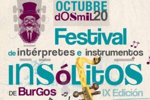 Burgos inicia mañana una nueva edición del Festival de Instrumentos e Intérpretes Insólitos