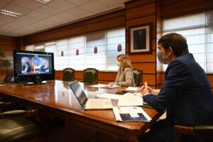La Junta de Castilla y León y el Gobierno de España colaborarán para mejorar la cobertura de internet en el medio rural