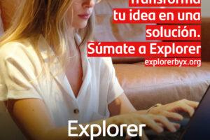 Hasta el 11 de diciembre permanece abierto el plazo de participación en la XI edición del Programa Explorer para apoyar a jóvenes emprendedores