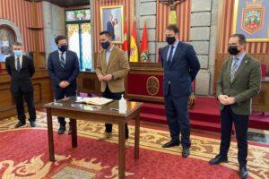 El Ayuntamiento de Burgos firma un convenio con los Colegios Profesionales de Abogados, Procuradores y Graduados Sociales de Burgos para poner en marcha un Servicio de Mediación