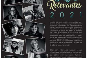 Se presenta el Calendario con Mujeres Relevantes de Burgos año 2019-2020