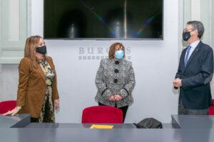 Se firma convenio de colaboración entre la Asociación Alejandro Yagüe el Instituto Municipal de Cultura del Ayuntamiento de Burgos y Fundación Cajacírculo