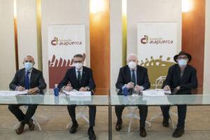 Las Fundaciones Cajacírculo e Ibercaja firman convenio de colaboración con Fundación Atapuerca