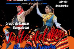El folclore burgalés viaja en época de pandemia al Festival Internacional de Camagua Folk de Camaguey de Cuba