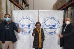 El Banco de Alimentos de Burgos recibe tres mil euros del grupo Gloval