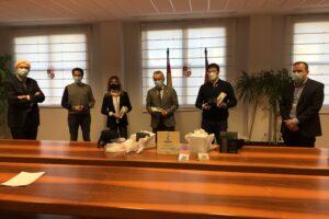 La Junta de CyL entrega al colegio La Salle y al CEIP Pons Sorolla la acreditación de Centro Educativo Sostenible