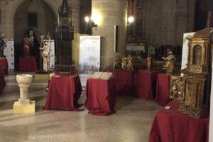 La exposición Sementera de esperanza finaliza su peregrinaje por la provincia en la iglesia de Santa María de Altamira en Miranda de Ebro