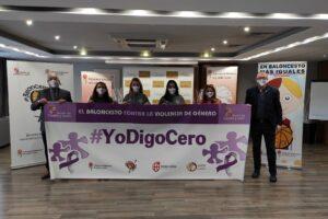 La Federación de Baloncesto de CyL y la Consejería de Familia entregan el premio del concurso #YoDigoCero