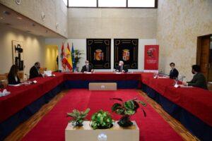 Fuentes aboga por coordinar los trabajos en torno al VIII Centenario de la Catedral de Burgos y el V de la batalla de Villalar para dinamizar el territorio