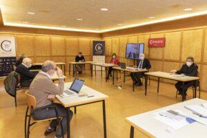La Fundación VIII Centenario de la Catedral. Burgos 2021 estudia nuevas propuestas e iniciativas