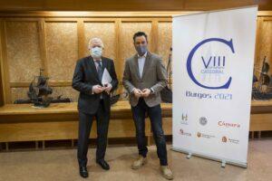 La Fundación VIII Centenario y la Cámara de Comercio estudian iniciativas con el Ayuntamiento para la promoción de Burgos