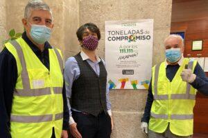 La familia del Grupo Social ONCE dona 280.000 kilos de comida a los Bancos de Alimentos con su campaña Toneladas de compromiso