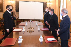 El embajador de Azerbaiyán Anar Maharramov visita la Diputación Provincial