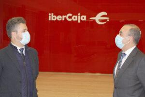 Ibercaja renueva su acuerdo de colaboración con la Asociación de empresarios del Polígono de Villalonquéjar