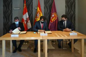 La Junta firma con la Diputación de Burgos el convenio Rehabitare para aumentar la oferta de alquiler social en el medio rural de esta provincia