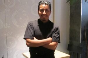 El chef Abel Mora, referente de la cocina 'Nikkei', protagoniza un nuevo encuentro gastronómico en el Museo de la Evolución Humana