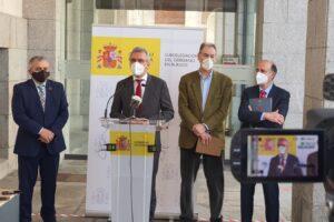 El delegado del Gobierno destaca el papel fundamental del Plan de Recuperación en el impulso de proyectos clave para CyL