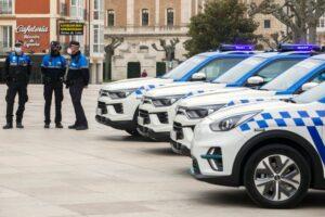 El Ayuntamiento de Burgos incorpora cuatro nuevos vehículos a la flota de Policía Local