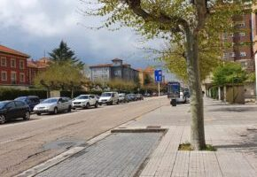 El concejal Rodríguez-Vigil anuncia la creación de un carril bici en la calle Vitoria, entre la plaza del Cid y el edificio de Telefónica