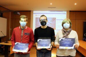 La UBU premia la divulgación de sus investigadores