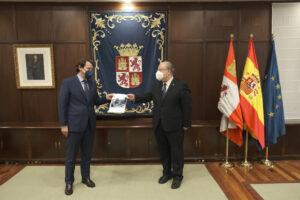 Mañueco implica al CES en el impulso de sus tres grandes ejes de Gobierno: proteger a las personas, modernizar Castilla y León y avanzar decididamente hacia el futuro de esta tierra